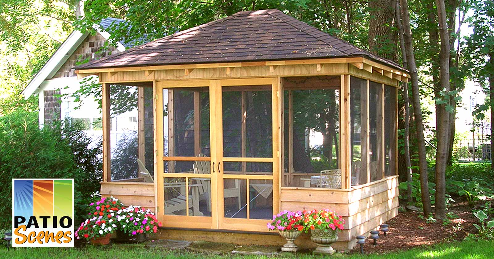 What is gazebo screen patio scenes outdoor privacy screen for What s a privacy screen
