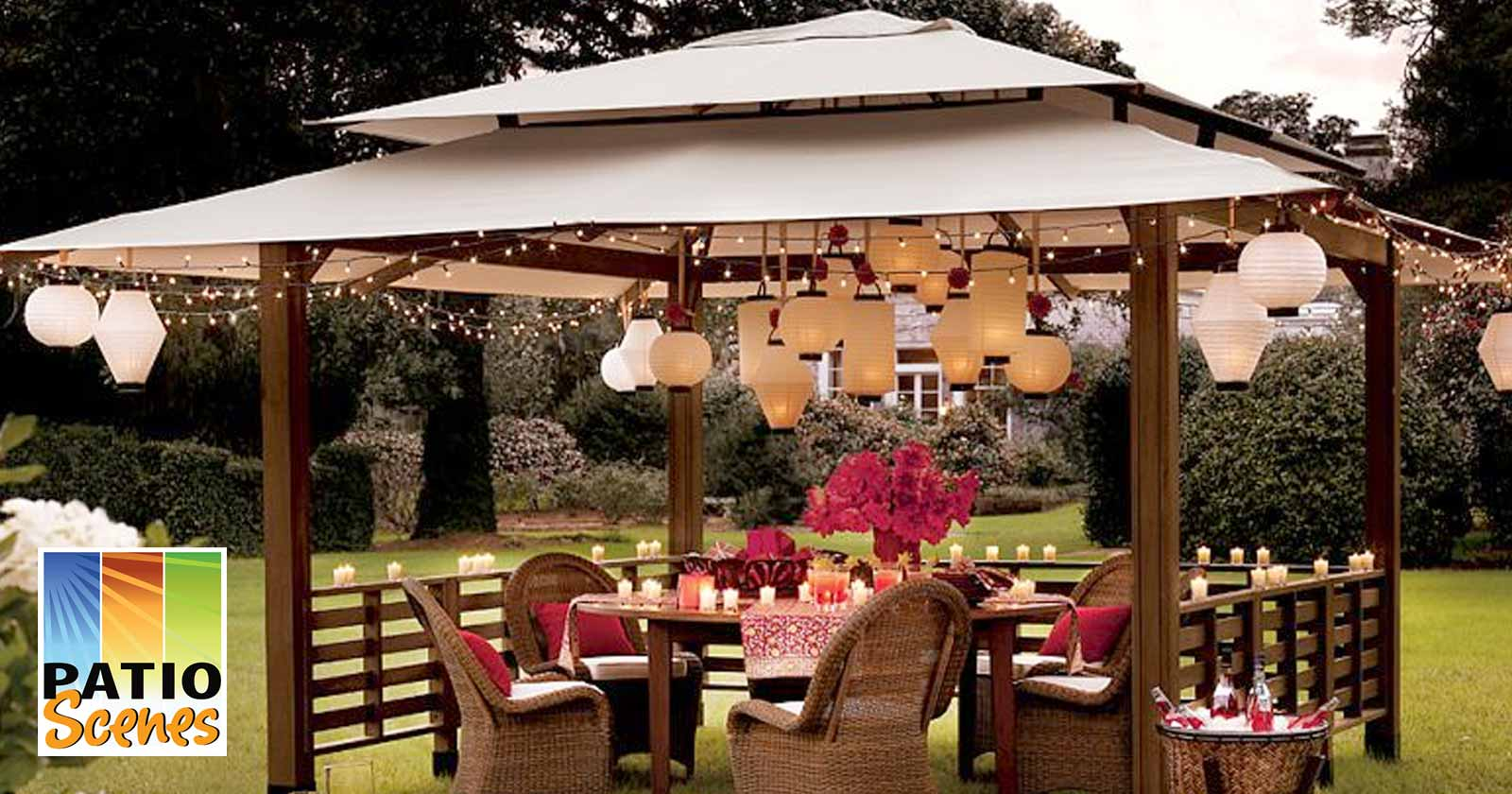 7 Awesome Party Ideas for Your Gazebo