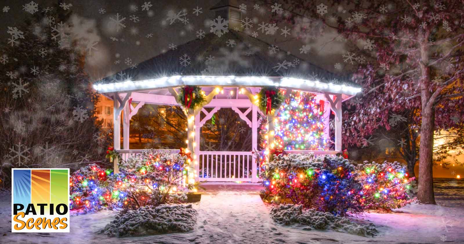 winter gazebo