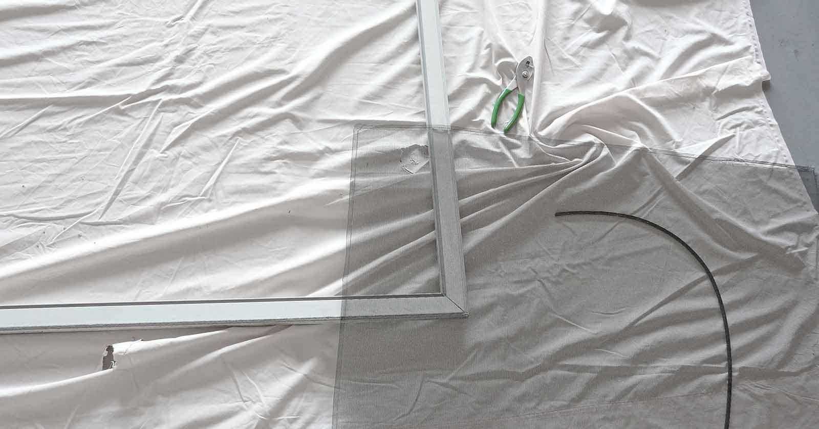 DIY mesh pool screen repair or hire a pro